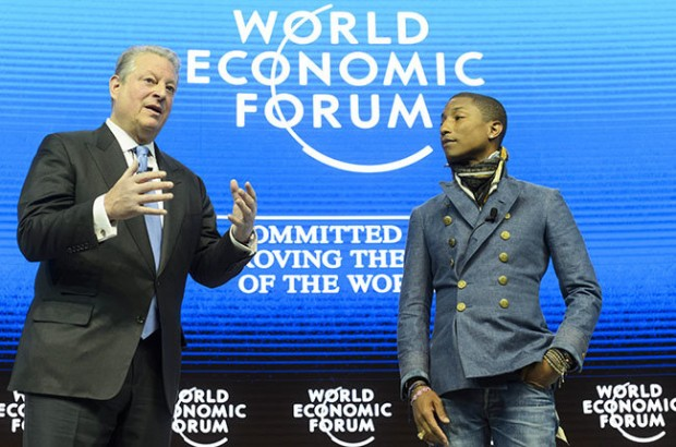 Wiliams At World Economic Forum