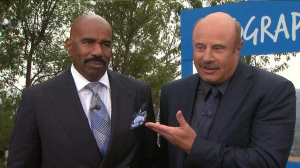 Dr. Phil And Steve Harvey