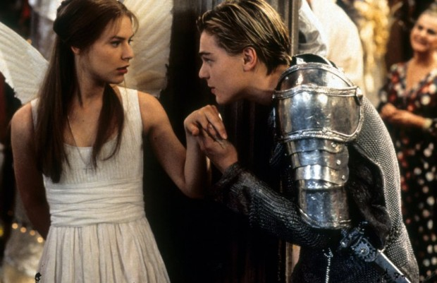 Leonardo Dicaprio In Romeo + Juliet Movie