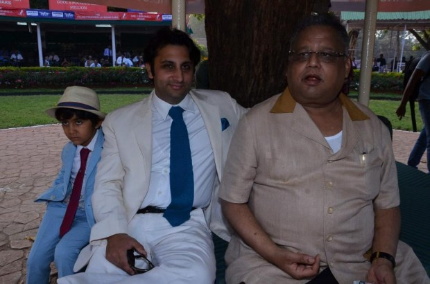 Rakesh Jhunjhunwala at Mumbai Annual Mid-Day Trophy 2015