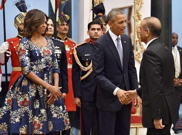 Sunil Mittal with Barack Obama
