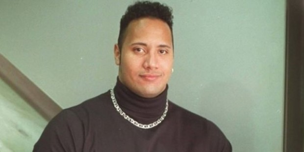 Dwayne Johnson in His High School Days