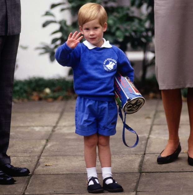 Prince Harry going to Nursery