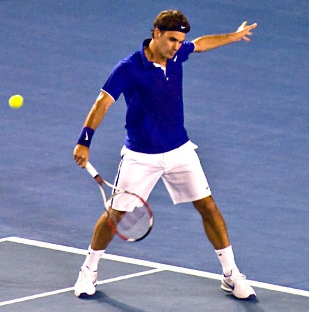 Federer in 2009 Australian Open