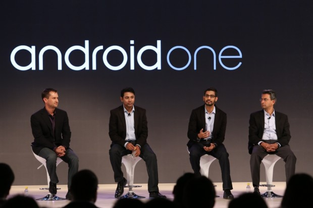 Pichai at Andriod One Launch