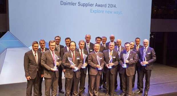 Samvardhana Motherson Group head at Daimler Award Show