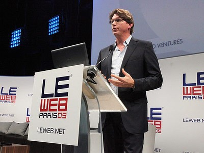 Niklas Zennstrom  at LE WEB Event