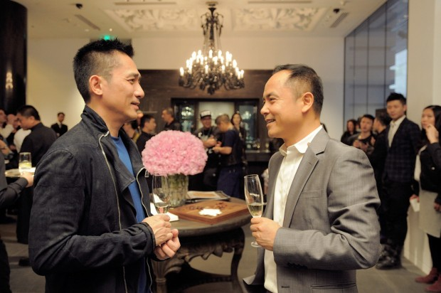 Tony Leung with Shen Guo Jun