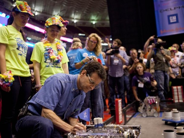Dean Kamen At Robotics Championship