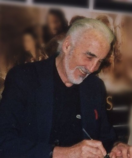 Christopher Lee At Forbidden Planet
