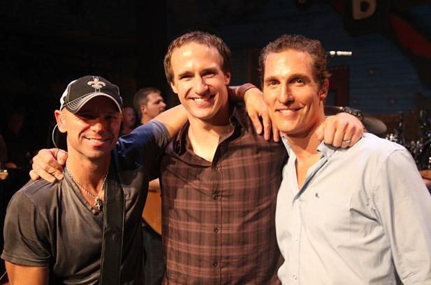 Kenny Chesney, Matthew McConaughey Partner Up for Amazing Race Event