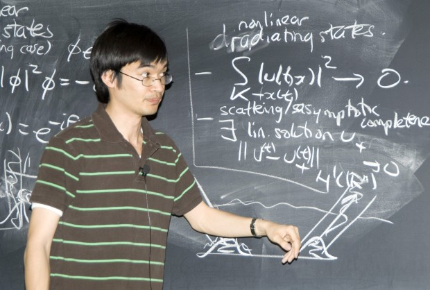 Terence Tao Teaching the Lectures