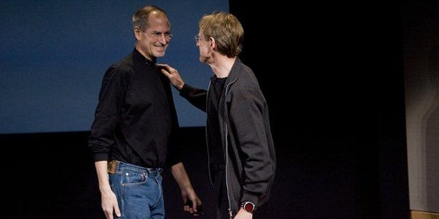 John Doerr With Steve Jobs