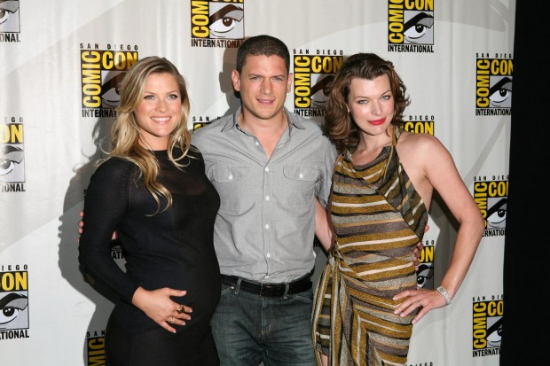 Milla jovovich, Ali larter and Wentworth miller at event of Resident Evil - Afterlife