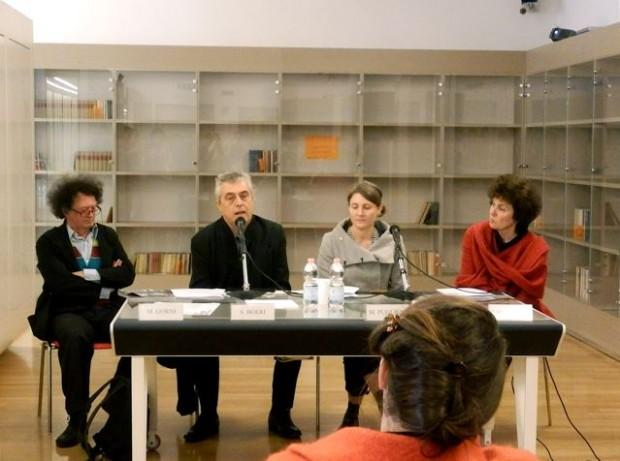 Mario Gorni, Stefano Boeri, Marina Pugliese With Patrizia Brusarosco