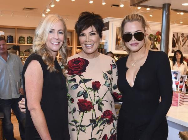 Khloe Kardashian, Kris Jenner with Janet Hayes