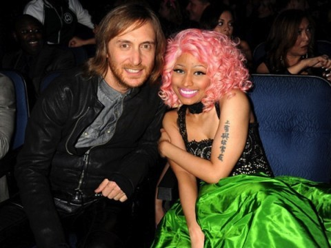 David Guetta with Nicki Minaj