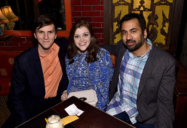 Actor Evan Kuzma, actress Georgie Henley and actor Kal Penn attend - The Sisterhood Of Night