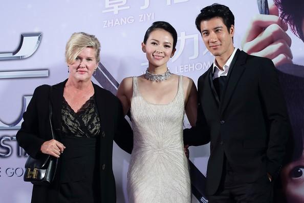 Zhang Ziyi, Wang Leehom with Dennie Gordon