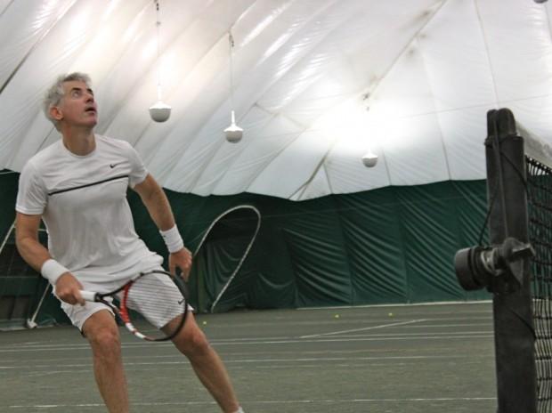 Bill Ackman Playing Tennis