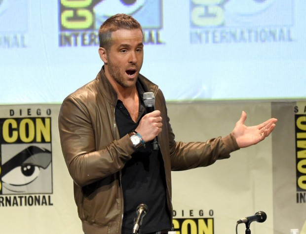Ryan Reynolds at Comic Con