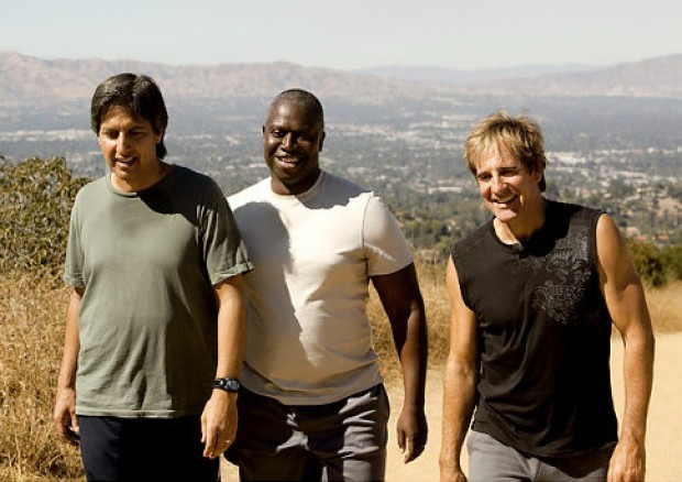 Ray Romano with Andre Braugher