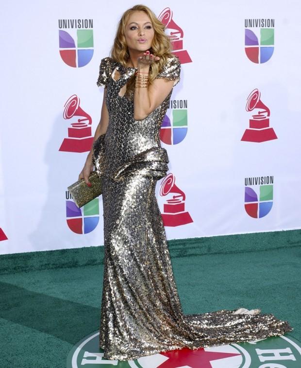 Paulina Rubio at Grammy Awards