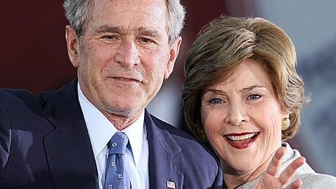 Laura Bush With George W. Bush
