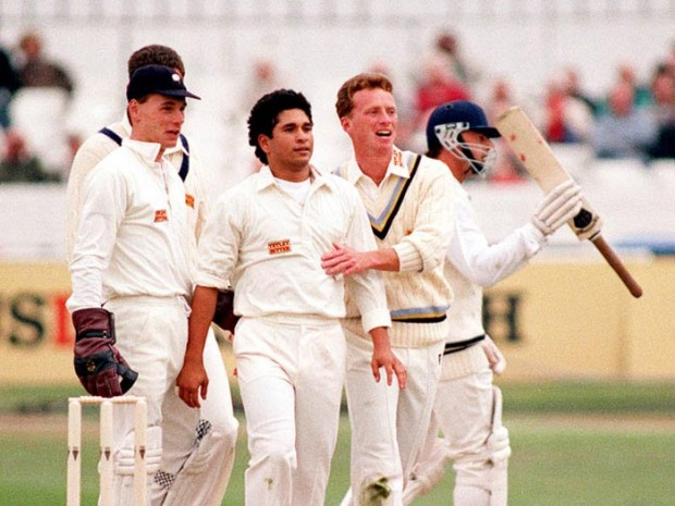 Sachin was The First Overseas Player who Played for Yorkshire County