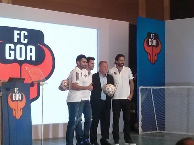 Virat at FC Goa Jersey Launch