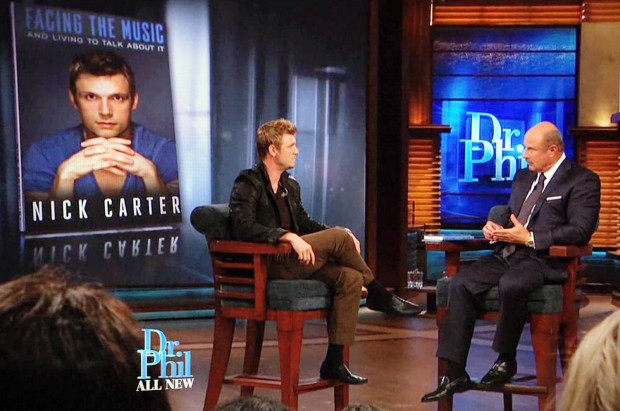 Nick Carter And Phil McGraw
