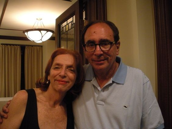 R.L. Stine With His Lovely Wife