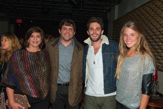 Pam Akins, Akins, Thomas Rhett, With Wife Lauren