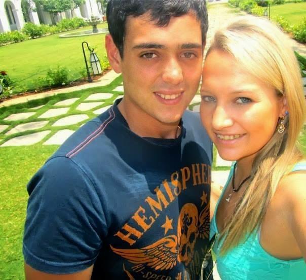 Quinton De Kock With His Girlfriend