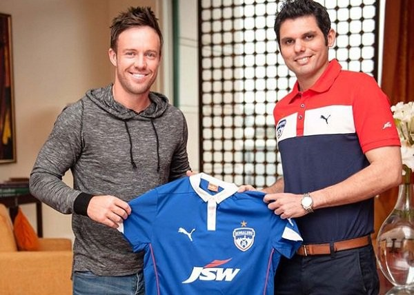 ABD Receiving FC Banglore Jersy