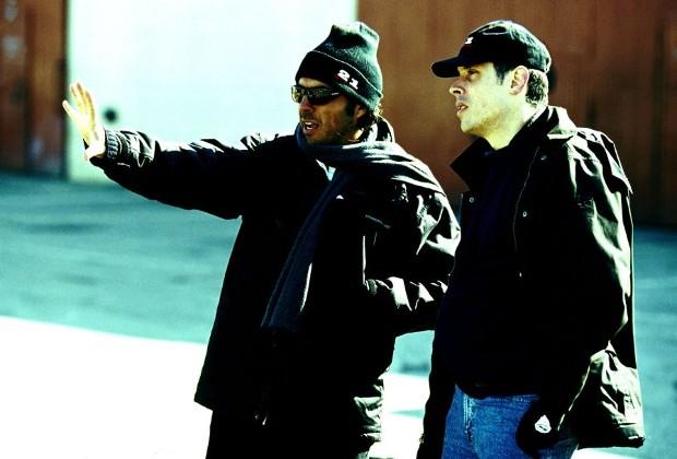Alejandro González With Rodrigo Prieto