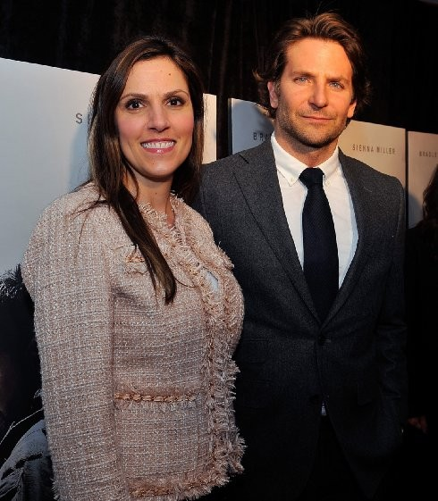 Bradley Cooper and Taya Kyle at event of American Sniper