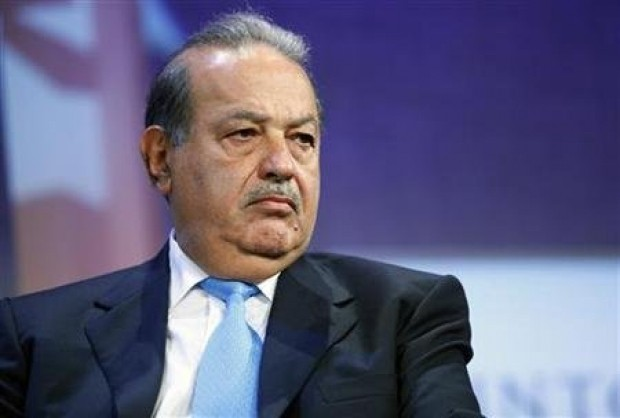 Billionaire Carlos Slim Helu in New York