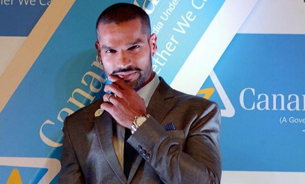 Dhawan Endorses Canara Bank