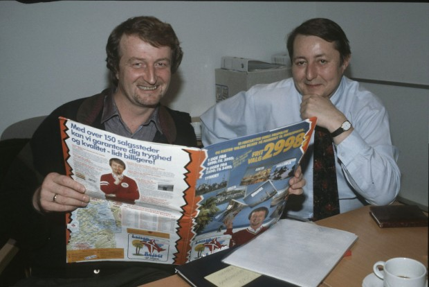 Lars Larsen Travelling With Brochure