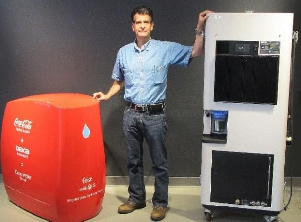 Inventor Dean Kamen With Slingshot