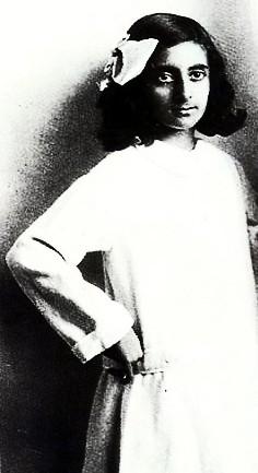 Young Indira Gandhi at 1930