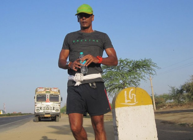 Milind Somans 1500-km Green Run