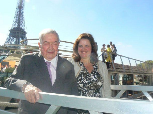 Parisian boat launches trimaran named Pierre Bellon