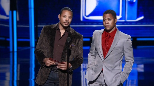 Cuba Gooding Jr. and Terrence Howard present at Peoples Choice Awards 2012