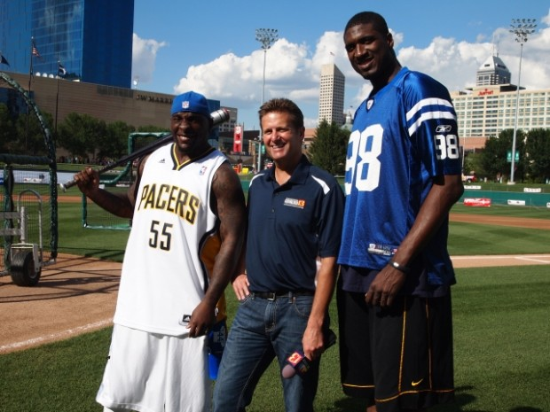 Roy Hibbert Co-Hosts Celebrity Softball Challenge