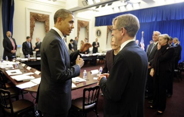 John Doerr With President Obama