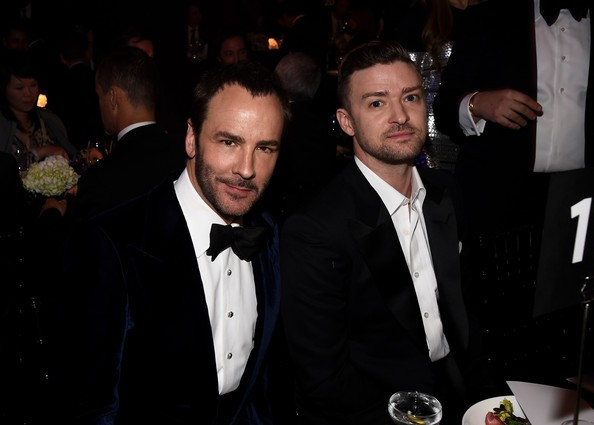 Justin Timberlake With Tom Ford