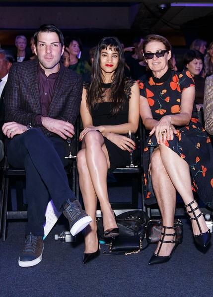 Zachary Quinto, Lisa Love with Sofia Boutella