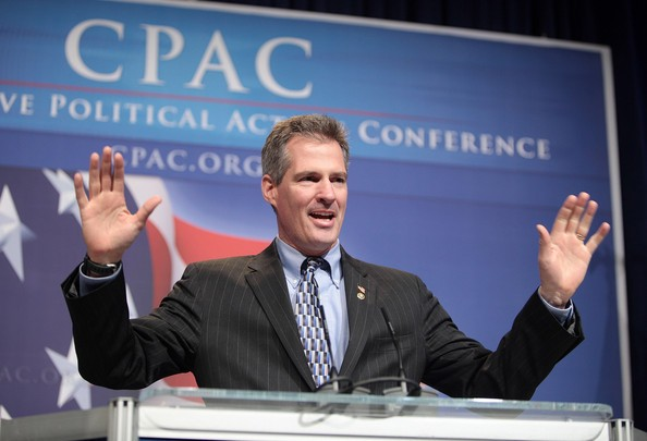 cott Brown (R-MA) speaks to attendees of the 37th Annual Conservative Political Action Conference